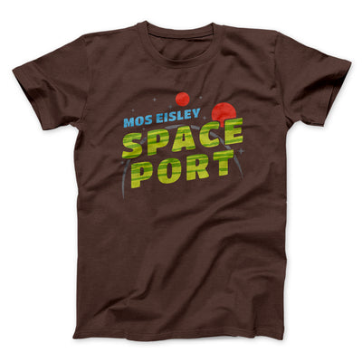 Mos Eisley Space Port Men/Unisex T-Shirt-Brown - Famous IRL
