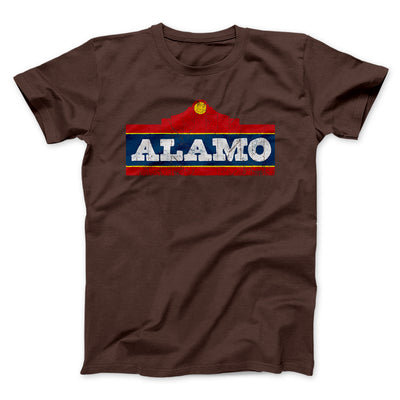 Alamo Beer Men/Unisex T-Shirt-Brown - Famous IRL