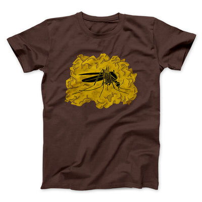 Amber Mosquito Men/Unisex T-Shirt-Brown - Famous IRL
