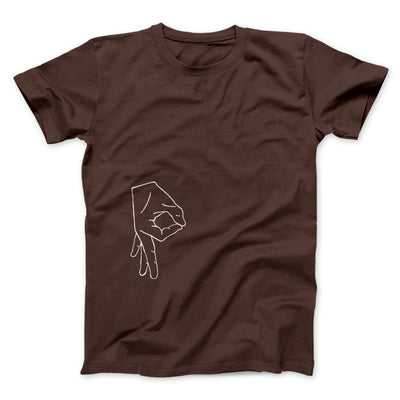 Circle Game Men/Unisex T-Shirt-Brown - Famous IRL