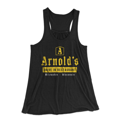 Arnold's Drive In Women's Flowey Racerback Tank Top - Famous IRL Funny and Ironic T-Shirts and Apparel