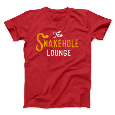 Snakehole Lounge Men/Unisex T-Shirt-Red - Famous IRL