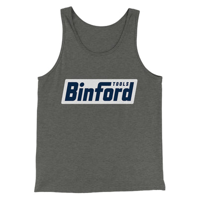 Binford Tools Men/Unisex Tank Top - Famous IRL Funny and Ironic T-Shirts and Apparel