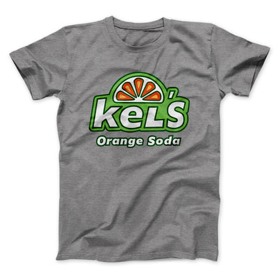 Kel's Orange Soda Men/Unisex T-Shirt-Deep Heather - Famous IRL