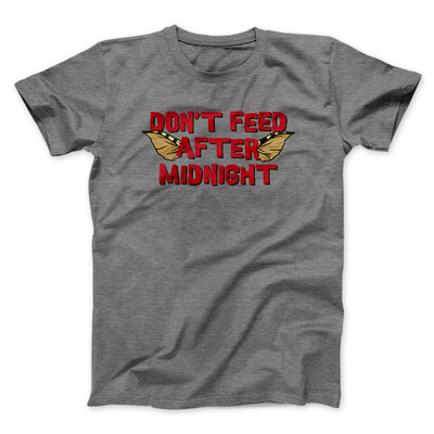 Don't Feed After Midnight Men/Unisex T-Shirt