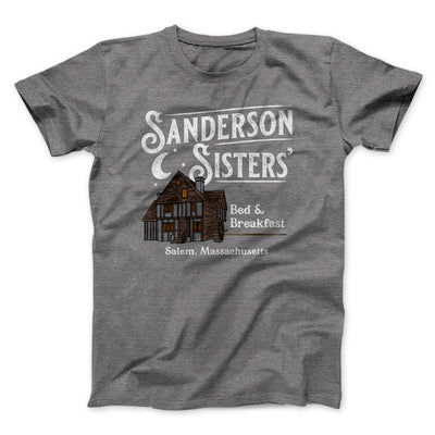 Sanderson Sisters' Bed & Breakfast Men/Unisex T-Shirt-T-Shirt-Printify-Deep Heather-L-Famous IRL