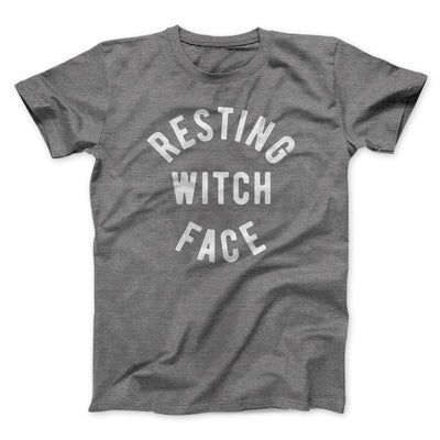 Resting Witch Face Men/Unisex T-Shirt-Deep Heather - Famous IRL