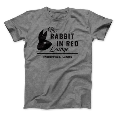 The Rabbit in Red Lounge Men/Unisex T-Shirt-Deep Heather - Famous IRL