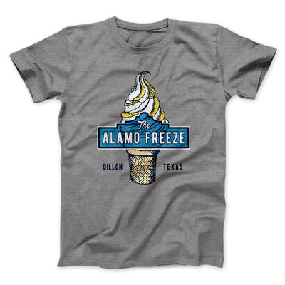 The Alamo Freeze Men/Unisex T-Shirt-Deep Heather - Famous IRL