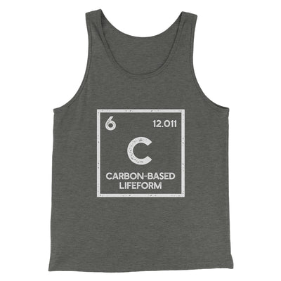 Carbon Based Lifeform Men/Unisex Tank - Famous IRL Funny and Ironic T-Shirts and Apparel