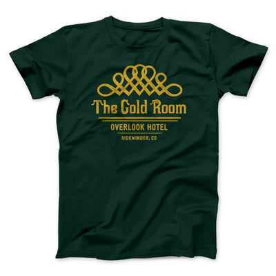 The Gold Room Men/Unisex T-Shirt-Men/Unisex T-Shirt-White Label DTG-Forest-S-Famous IRL