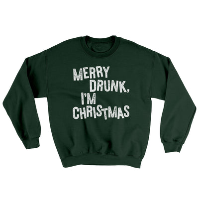 Merry Drunk, I'm Christmas Ugly Sweater
