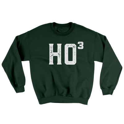 Ho Cubed Men/Unisex Ugly Sweater-Forest Green - Famous IRL