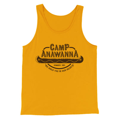 Camp Anawanna Men/Unisex Tank Top - Famous IRL Funny and Ironic T-Shirts and Apparel