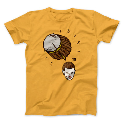 It Goes to Eleven Men/Unisex T-Shirt-Gold - Famous IRL