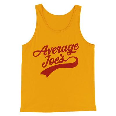 Average Joe's Team Uniform Men/Unisex Tank - Famous IRL Funny and Ironic T-Shirts and Apparel