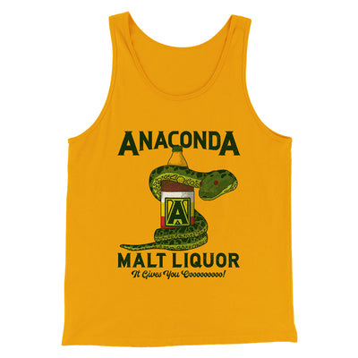 Anaconda Malt Liquor Men/Unisex Tank Top - Famous IRL Funny and Ironic T-Shirts and Apparel