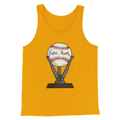 Babe Ruth Signed Ball Men/Unisex Tank Top