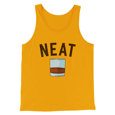 Whiskey- Neat Men/Unisex Tank Top