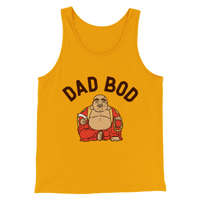 Dad Bod Men/Unisex Tank-Gold - Famous IRL