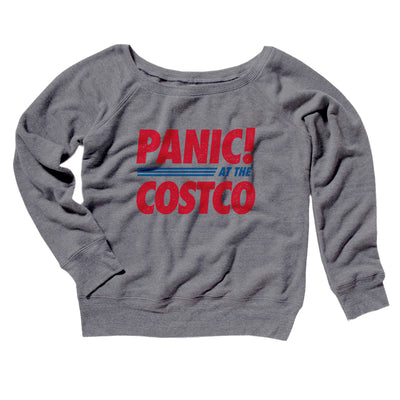 Panic! At The Costco Women's Scoopneck Sweatshirt