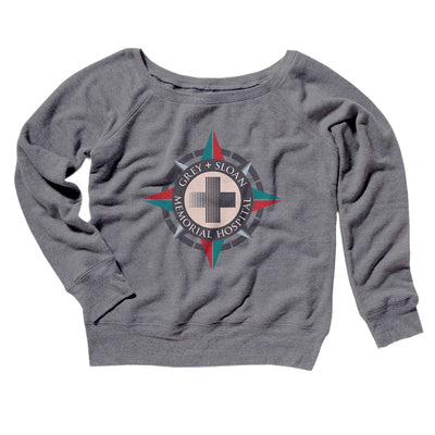 Grey-Sloan Hospital Women's Scoopneck Sweatshirt