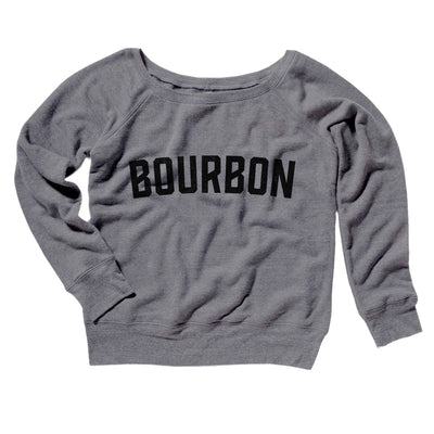 Bourbon Women's Off The Shoulder Sweatshirt