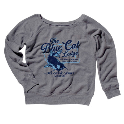 Blue Cat Lodge Women's Scoopneck Sweatshirt