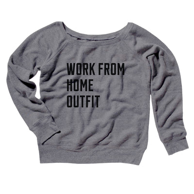 Work From Home Outfit Women's Scoopneck Sweatshirt