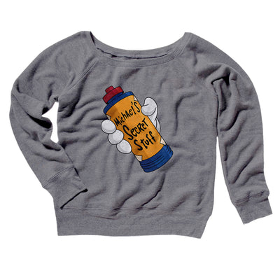 Michael's Secret Stuff Women's Scoopneck Sweatshirt