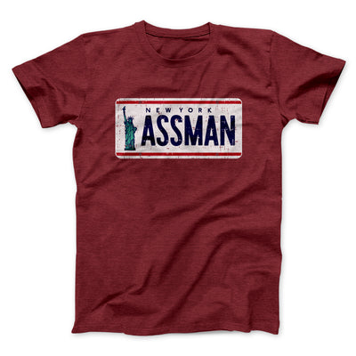 Assman Men/Unisex T-Shirt - Famous IRL Funny and Ironic T-Shirts and Apparel