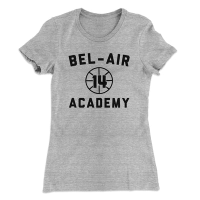 Bel-Air Academy Basketball Women's T-Shirt - Famous IRL Funny and Ironic T-Shirts and Apparel