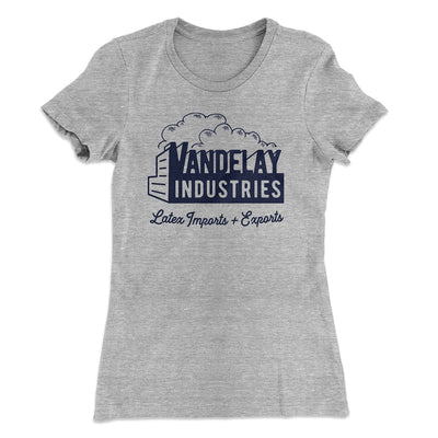 Vandelay Industries Women's T-Shirt-90/10 Heather Gray - Famous IRL