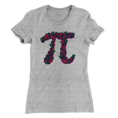 Raspberry Pi Women's T-Shirt-90/10 Heather Gray - Famous IRL