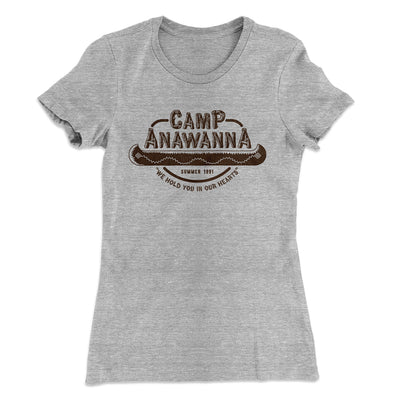 Camp Anawanna Women's T-Shirt - Famous IRL Funny and Ironic T-Shirts and Apparel