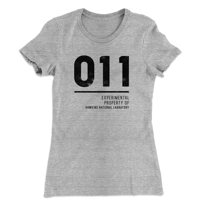 Experimental Property 011 Women's T-Shirt-90/10 Heather Gray - Famous IRL