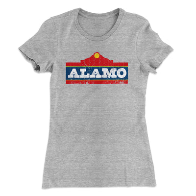 Alamo Beer Women's T-Shirt - Famous IRL Funny and Ironic T-Shirts and Apparel