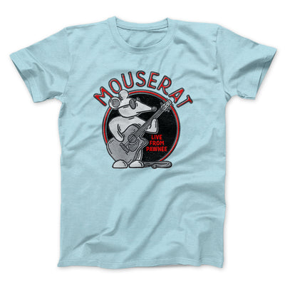 Mouse Rat Men/Unisex T-Shirt-Heather Ice Blue - Famous IRL