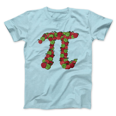 Apple Pi Men/Unisex T-Shirt-Heather Ice Blue - Famous IRL