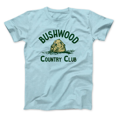 Bushwood Country Club Men/Unisex T-Shirt-Heather Ice Blue - Famous IRL