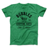 Bubbles Shopping Carts Men/Unisex T-Shirt-Heather Kelly - Famous IRL