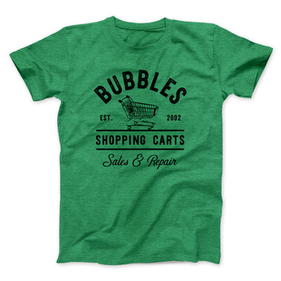 Bubbles Shopping Carts Men/Unisex T-Shirt - Famous IRL Funny and Ironic T-Shirts and Apparel