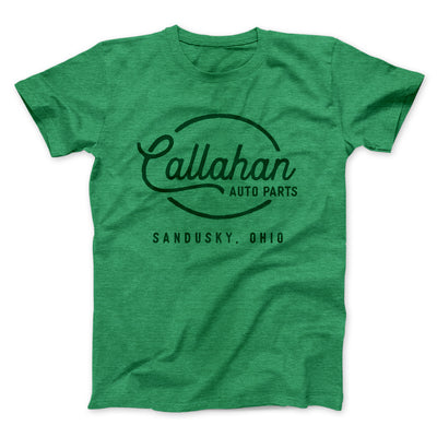 Callahan Auto Parts Men/Unisex T-Shirt-Heather Kelly - Famous IRL