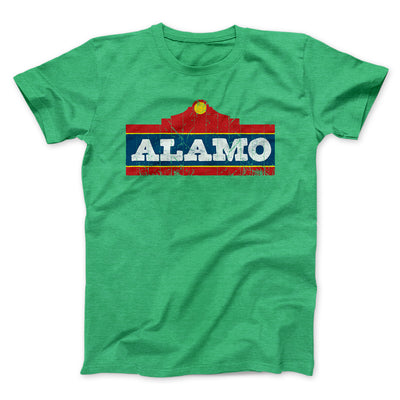 Alamo Beer Men/Unisex T-Shirt-Heather Kelly - Famous IRL