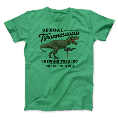 Sexual Tyrannosaurus Chewing Tobacco Men/Unisex T-Shirt