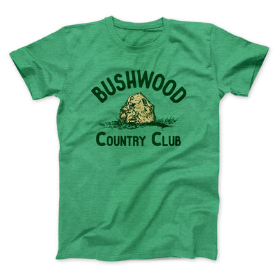 Bushwood Country Club Men/Unisex T-Shirt-Heather Kelly - Famous IRL