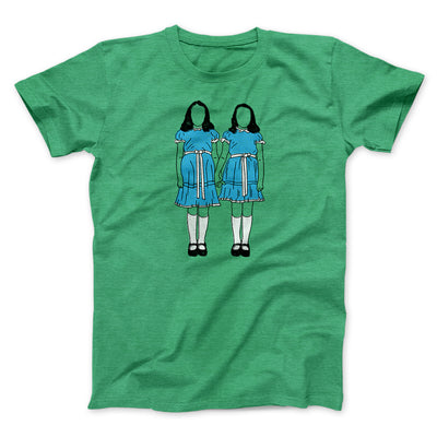 Grady Twins Men/Unisex T-Shirt-T-Shirt-Printify-Heather Kelly-S-Famous IRL