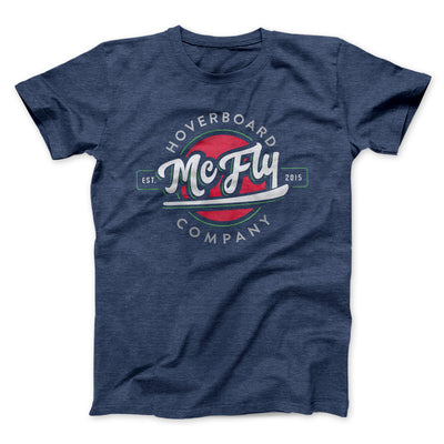 McFly Hoverboards Men/Unisex T-Shirt-Heather Navy - Famous IRL