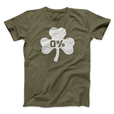 0% Irish Men/Unisex T-Shirt