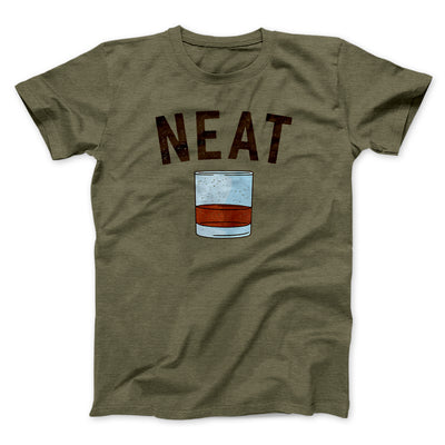Whiskey- Neat Men/Unisex T-Shirt